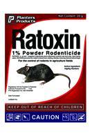 RODENTICIDE   RATOXIN 1% P