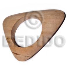 Plain Raw Natural Wooden Bangle