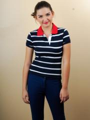 Striped Polo Shirts > Loyda