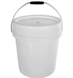 Plastic Container Bucket Stock No. 8698