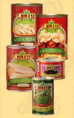 Jolly Canned Vegetables