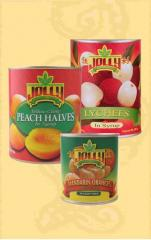 Jolly Canned Fruits