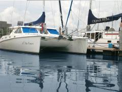 Yacht Sail Catamaran