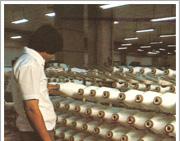 Chemical fiber yarn