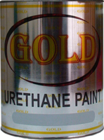 Gold Urethane Paint
