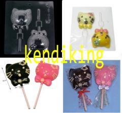 2 Hello Kitty mold