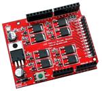 LED Matrix Common Cathode Driver Shield