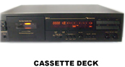 Housing for cassette recorder