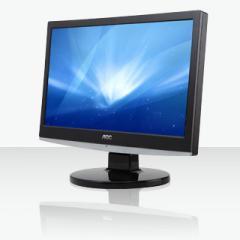 "AOC 1620SW 15.6"" LCD Monitor"