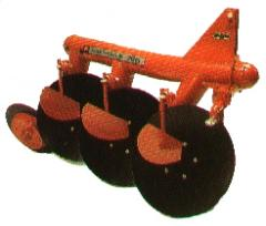 MF Tractor Implements Disc Plough
