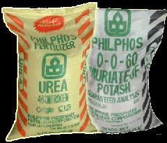 Fertilizers 0-0-60 (MOP)