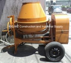 One-Bagger Concrete Mixers  B.  Model CM1,  A-