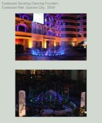 Musically-Activated Dancing Fountain