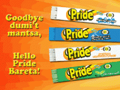 Pride Laundry Detergent Bar