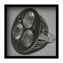 """""""Mirage 3"""" Custom LED MR16 Replacement"""