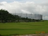 Metal Mesh Fence Field