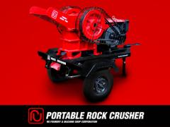 Mobile Rock Crushing Device