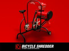 Bike Shredder is manually