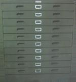 Map & Plan Cabinet 10-Drawers