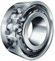 Double row ball roller bearings in O arrangement