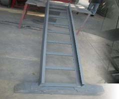 Fabricated Cable Tray Product Which Delivered on Project Site