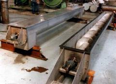 Heating Screw Conveyors