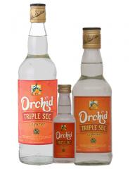 Orchid line of cordials Orchid Triple Sec