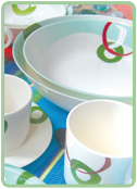 Tableware Pastel Rings