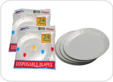 Paper Plates White 24's