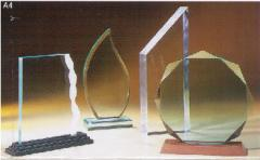Acrylic awards and trophies