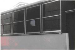 Windows on bus Acryllic