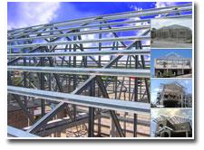 Steel Truss GI Roof Framing System