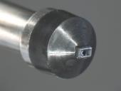 Black Plastic Conical & Rectangular Vacuum