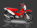 Honda XRM125 Dual Sports motorcycle