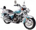 XSJ150-3B (with balance shaft) cruiser motorcycle