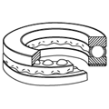 Single-Direction Thrust ball bearings