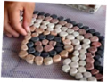 Pebbles Mosaic tile
