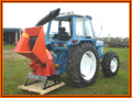 """New 8"""" PTO Driven wood, brush and mixed waste Chipper / Shredder"""