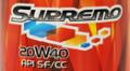 Supremo 20W40 lubricant