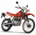 XR 200 motorcycle