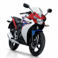 CBR 150R motorcycle