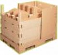 Cardboard-based corrugated cushions