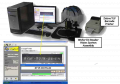 Table Top Wafer ID Reader with Barcode Printing Cognex Based