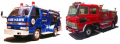 Palmer-Asia fire trucks
