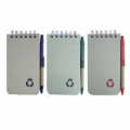 Recycled Notebook with Pen NB3091