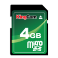 KingCom SDHC Card 4GB SD Cards