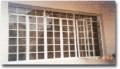 Steel window casement