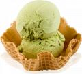 Ice cream pistachio
