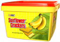 Sunflower Banana Plastic Container