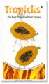 Philippine Dried Papaya
